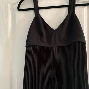 Trouve Black Pleated Cami